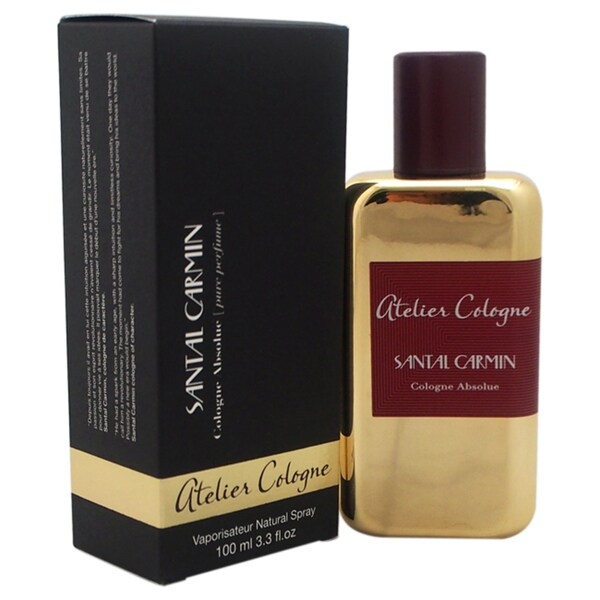 Atelier Cologne Santal Carmin Unisex 3.3-ounce Cologne Absolue Spray