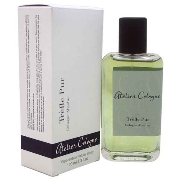 Atelier Cologne Trefle Pur Unisex 3.3-ounce Cologne Absolue Spray