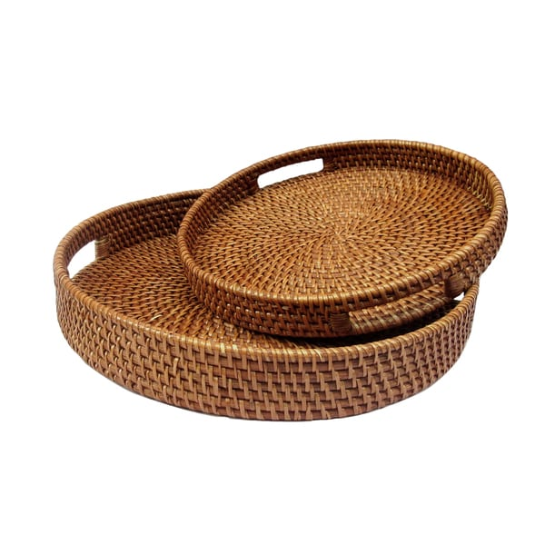 Round Nesting Baskets (Set of 2)
