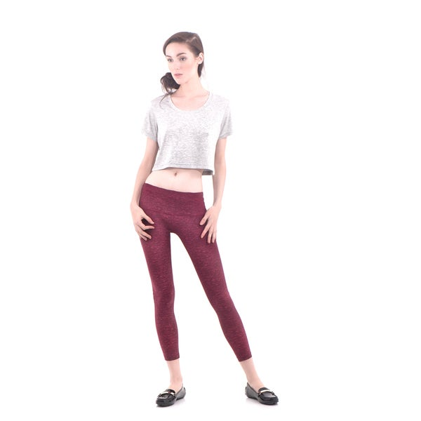 Bluberry Women's Crop Active Legging