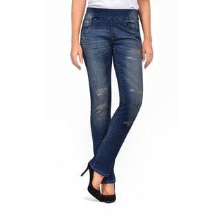 Bluberry Women's Olivia Straight Leg Denim