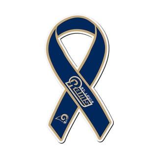 St. Louis Rams Sports Team Logo Ribbon Magnet