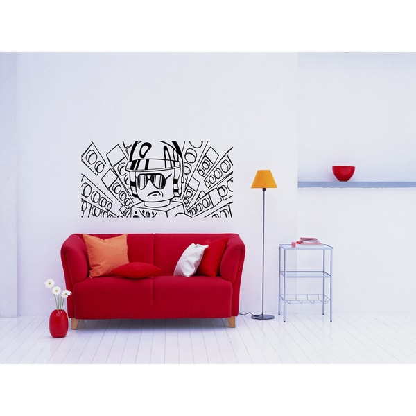 Cool Lego Man Wall Art Sticker Decal