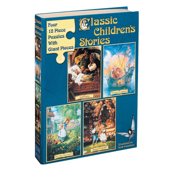 Classic Children's Stories Puzzle I Goldilocks: 48 Pieces
