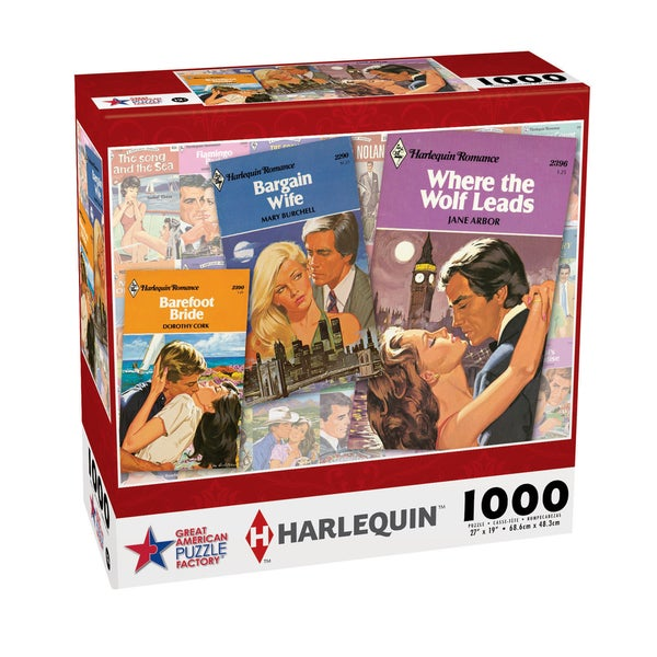 Harlequin Puzzle Where the Wolf Leads: 1000 Pieces