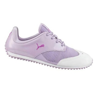 PUMA Ladies Summercat White-Orchid Spikeless Shoe