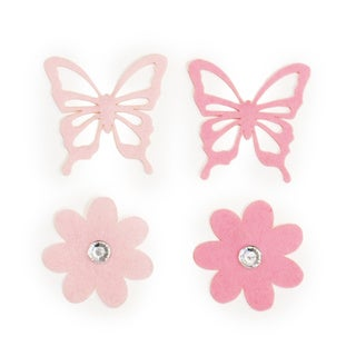 Little Haven Butterfly Letter Embellishments (Set of 4)