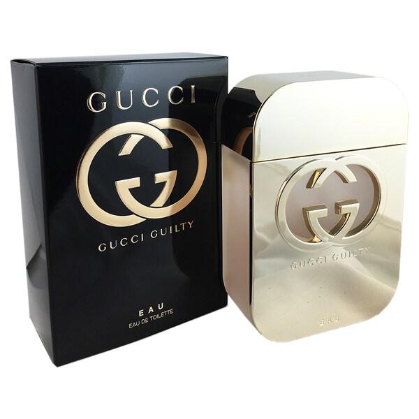 Gucci Guilty EAU Women's 2.5-ounce Eau de Toilette Spray