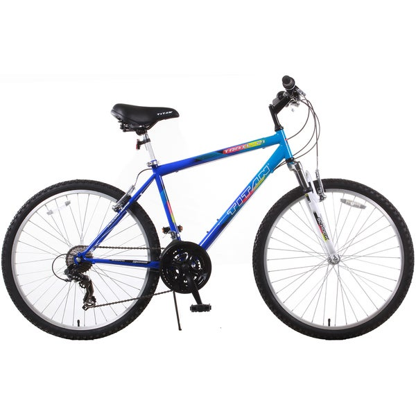 Trail 21-speed Blue Suspension Men's Mountain Bike