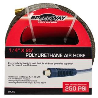 Speedway 0.25-inch x 25' PU air hose