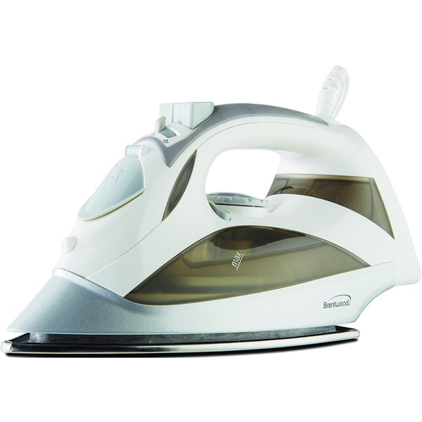 Brentwood Power Steam Iron Stainless White