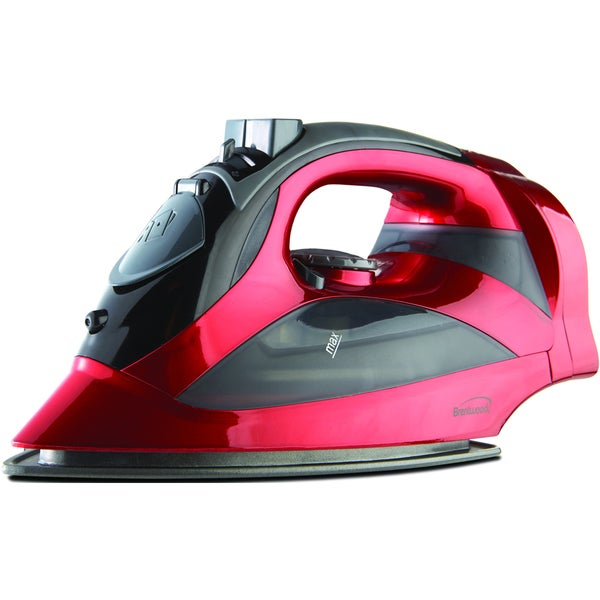 Brentwood MPI-59R Red Steam Iron with Retractable Cord