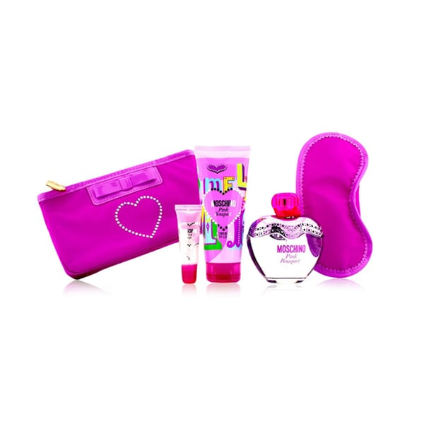 Moschino Pink Bouquet Women's 5-piece Gift Set