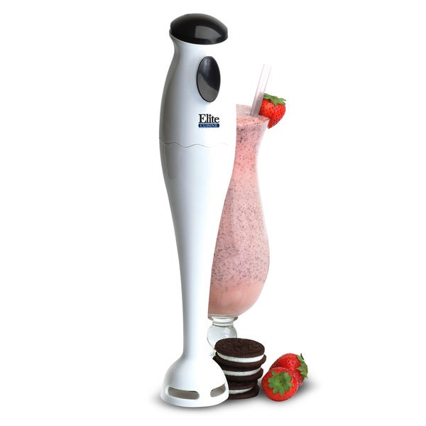 Maxi-Matic Elite Cuisine EHB-1000X Hand Blender Mixer, White