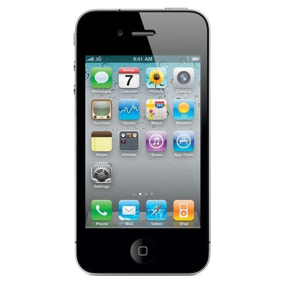 Apple iPhone 4S 8GB Unlocked GSM Seller Refurbished Cell Phone w/ Siri & iCloud - Black
