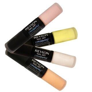 Revlon Nail Art Chalkboard Matte Nail Enamel Polish Color 4-piece Set