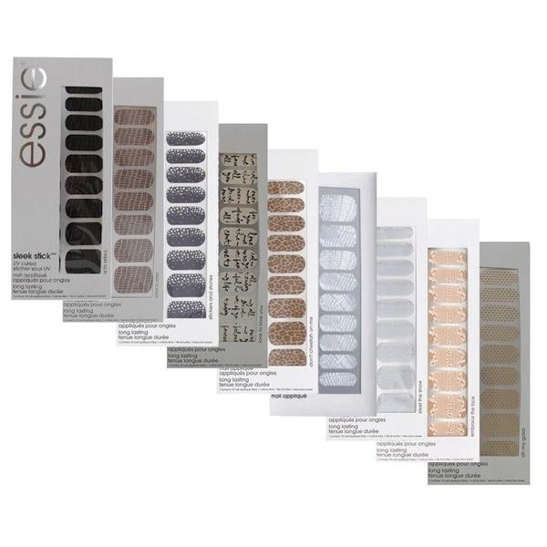 Essie Sleek Stick Nail Appliques-Stickers 9-piece Set