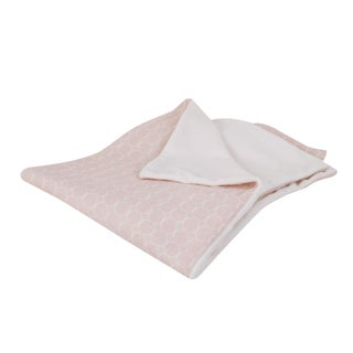 Cotton Tale Designs Sweet and Simple Pink Gauze Blanket