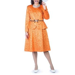 Giovanna Signature Crinkle Satin Ribbon Detail Jacket Dress