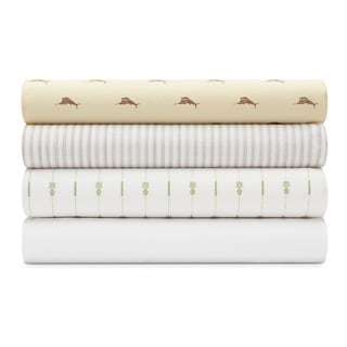 Tommy Bahama Cotton Percale Bed Sheet Sets