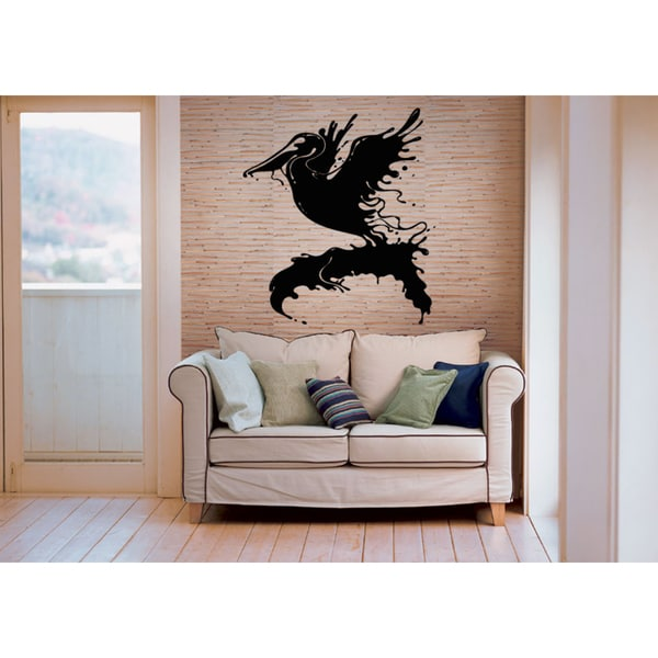 Pelican blast off Wall Art Sticker Decal
