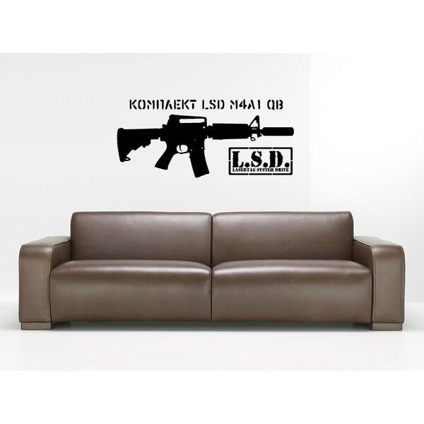 LSD Weapons Wall Art Sticker Decal