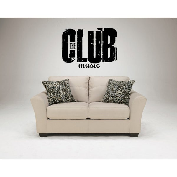 Music Club Wall Art Sticker Decal