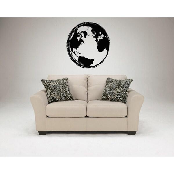 Planet Earth Wall Art Sticker Decal