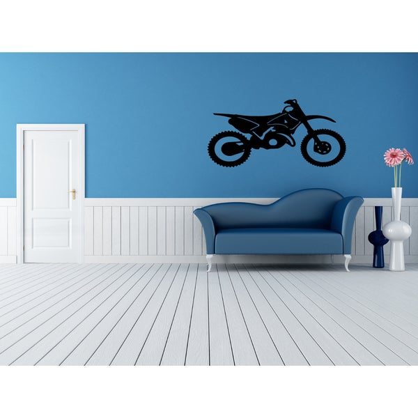 Motorbike Wall Art Sticker Decal