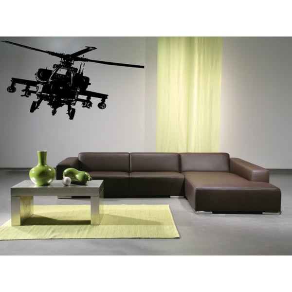 Military Helicopter Air Force aircraft Wall Art Sticker Decal