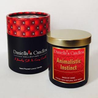 Animalistic Instinct Men's Luxury Jewelry Candle - Surprise Me