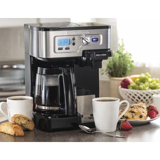 Hamilton Beach FlexBrew 2-Way Coffe Maker (Refurbished)