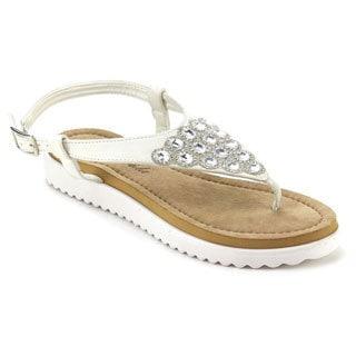 Atrevida Perah-08 Women's Rhinestone Thong Sandals