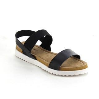 Atrevida Perah-01 Women's Ankle Strap Flat Sandals