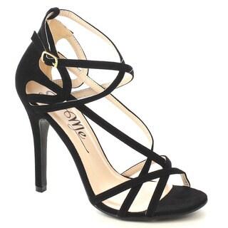 Beston Fb13 Women's Criss Cross Dress Sandals