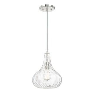 Austin Allen & Company Urban 1-light Polished Nickel Pendant