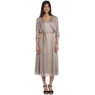 R&M Richards Lace Jacket Dress