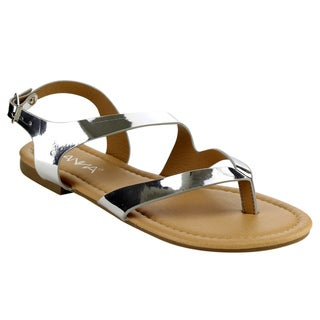Anna Adriana-28 Women's Strappy Thong Sandals