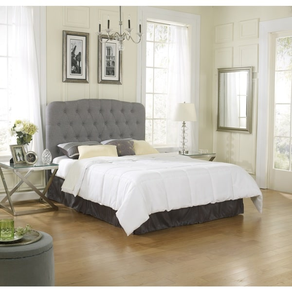 Sleep Sync Spokane Linen Full-Queen Headboard