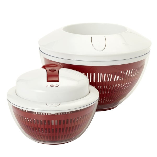 REO 2 In 1 Salad Spinner Red