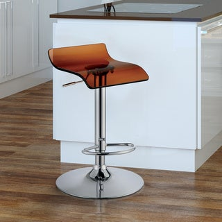 Furniture of America Hermie Contemporary Low Back Bar Chair (Set of 2)