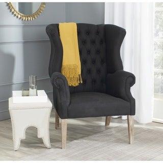 Safavieh Bradon Black Club Chair
