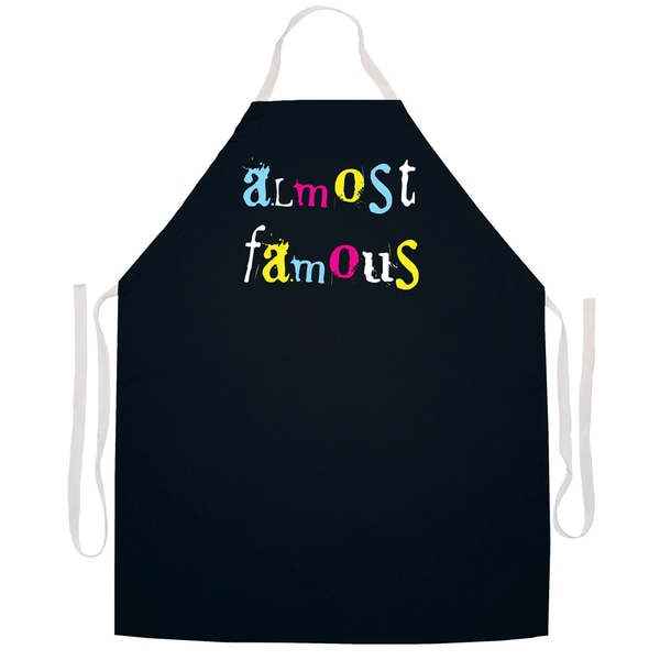 Almost Famous' Artist Apron-Black