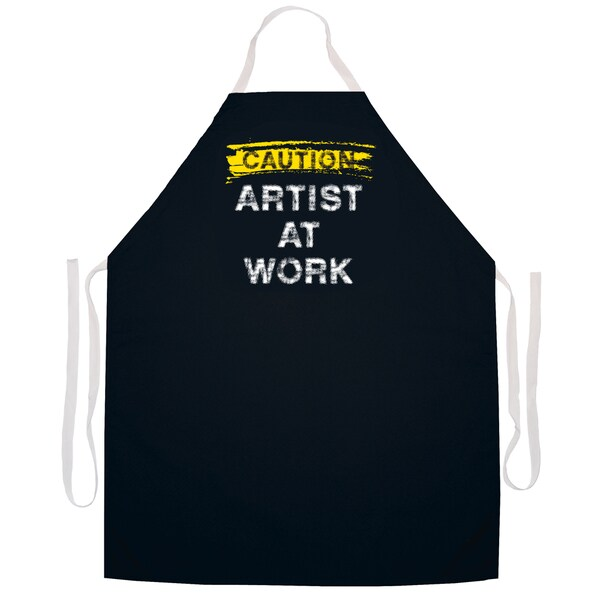 Artist at Work' Artist Apron-Black
