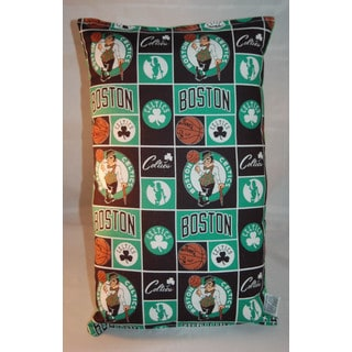 Lillowz NBA Boston Celtics Reversible 9 x 16-inch Rectangular Throw Pillow