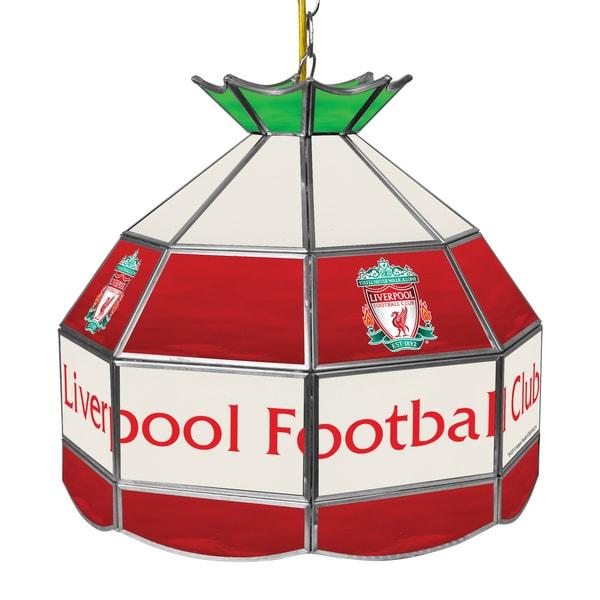 Premier League Liverpool Football Club 16 Inch Handmade Tiffany Lamp