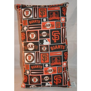 Lillowz MLB San Francisco Giants Reversible 9 x 16-inch Rectangular Throw Pillow