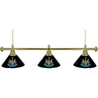 Premier League Newcastle United 3 Shade Brass Bar Lamp