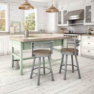 Home Styles White Distressed Oak Bar Stool 14191137