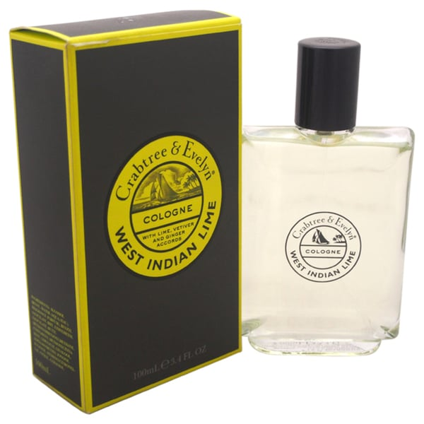 Crabtree & Evelyn West Indian Lime Men's 3.4-ounce Cologne Spray 17631460